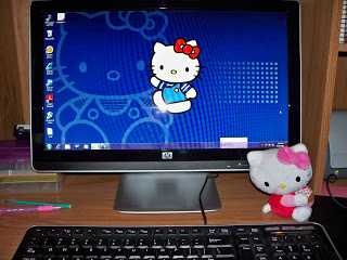 Hello school year & Hello Kitty.