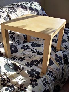 Silent Sunday. Ikea table fun!