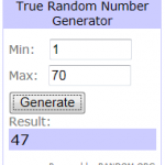 The Give-Away Winner Announced!