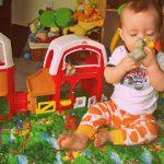 Cuteness & Wyatt's B-day Invitations!