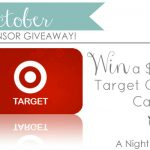 $75 Target Gift Card // A Night Owl Giveaway!