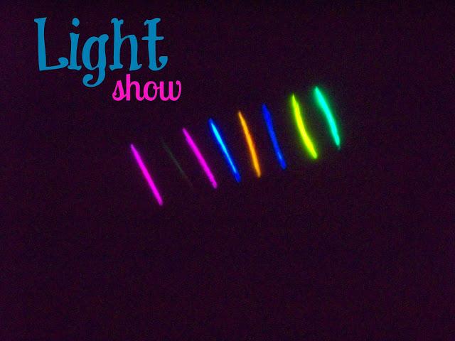 glow sticks.