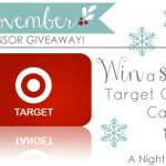 A Night Owl Sponsor Giveaway: win a $50 Target Gift Card!
