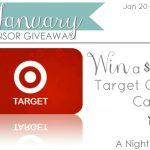$100 Target Gift Card Giveaway via A Night Owl Blog!