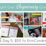 $50 to ErinCondren.com Giveaway w/ A Night Owl Blog!