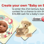 Win $10,000 cash with 21st Century Insurance!