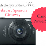 Enter to win a Canon Powershot Camera w/ Through the Eyes of the Mrs.