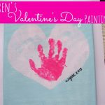 Toddler Valentines Painting