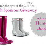//giveaway// Win a pair of Hunter Boots!