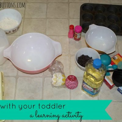 Baking with your toddler : Cupcakes!