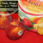 Pineapple, Peach, Mango + Strawberry Water!