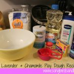 Soothing Lavender & Chamomile Play Dough