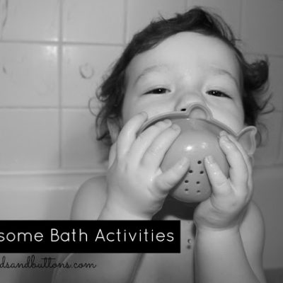 10 Awesome Bath Activities