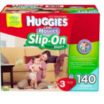 Huggies Little Movers Slip On Diapers