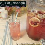 Sparkling Fruit Lemonade with Lorina Prestige Sparkling Soda