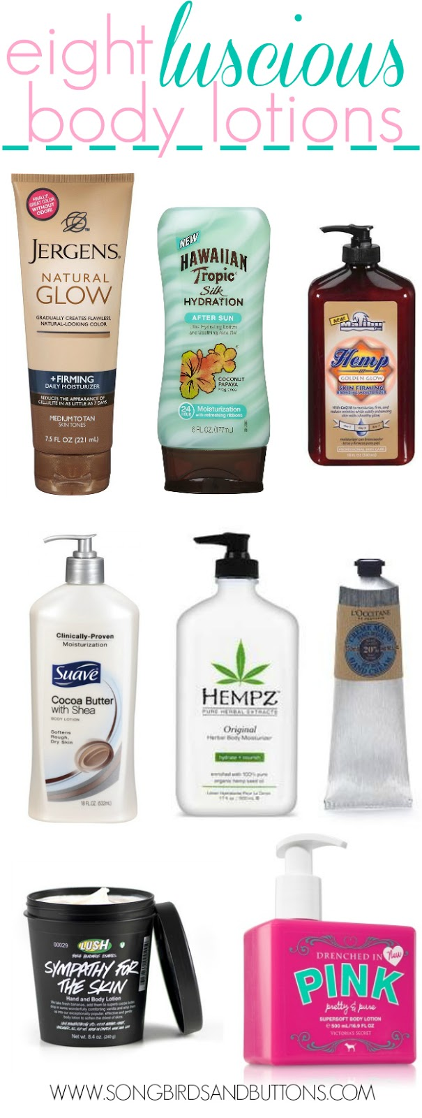 8 Luscious Body Lotions