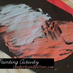 Foam Painting Activity