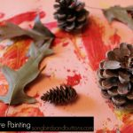 Fall Nature Painting – Toddler Activity