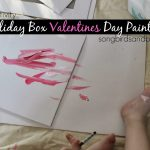 Toddler Activity: Holiday Box Valentines Day Painting