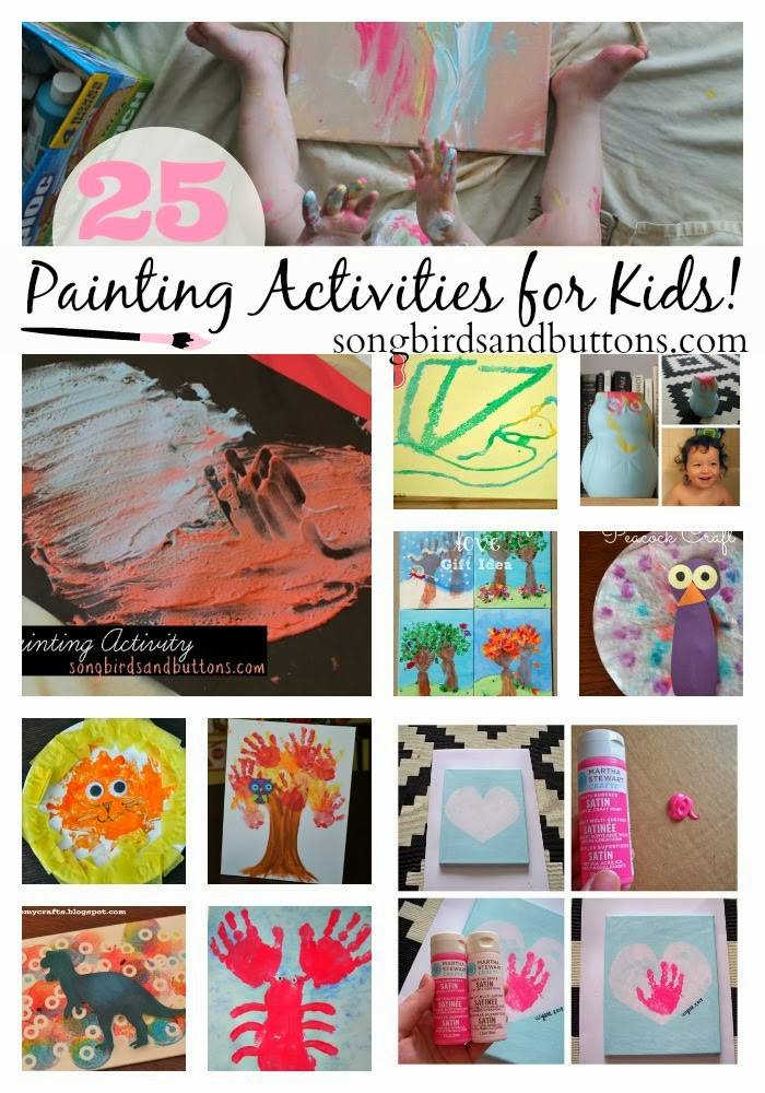 25 Painting Activities for Kids!