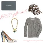 $250 J.Crew Gift Card Giveaway
