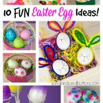10 Fun Ways to Dye Easter Eggs!