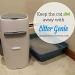 Keep the cat stink away with Litter Genie