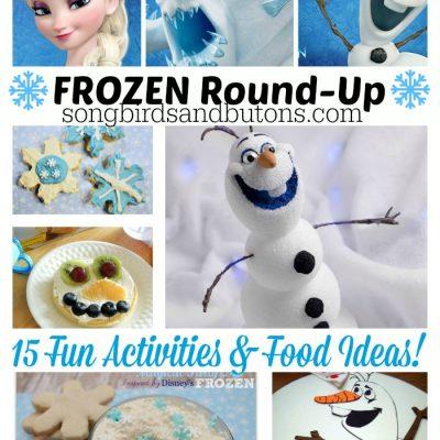 Fun FROZEN activities & food ideas!