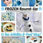 Fun FROZEN activities & food ideas!