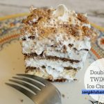 Double Layer TWIX® Bites Ice Cream Cake