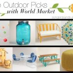 Top Outdoor Picks with World Market & Giveaway!