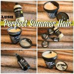 Summer Hair with LUSH