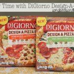 Family time with Digiorno Design-A-Pizza