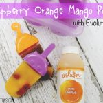 Evolution Fresh: Raspberry Orange Mango Pops