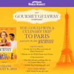 The Hundred Foot Journey & Gourmet Getaway Sweepstakes!