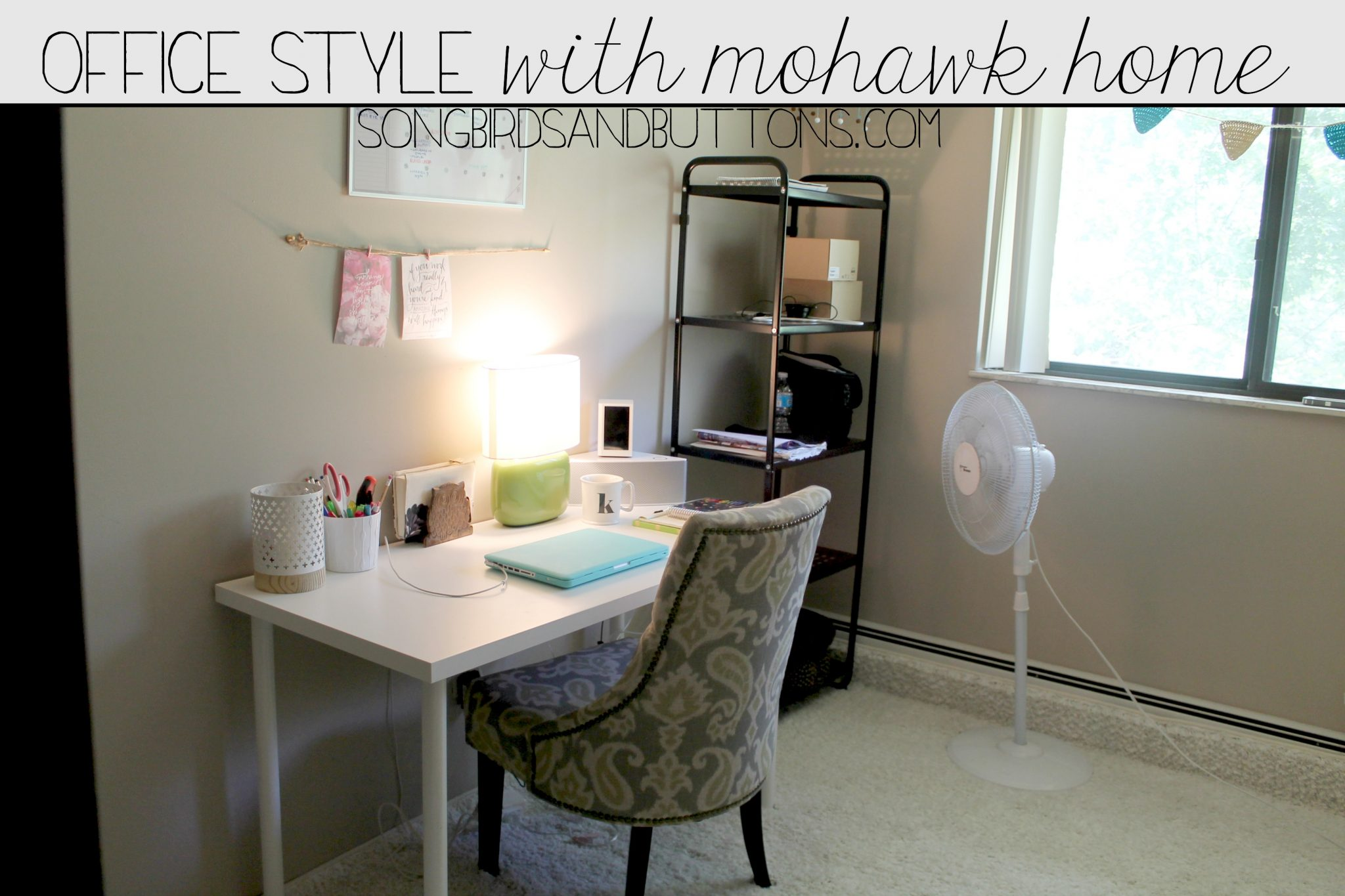 My Office Space & Mohawk Home Giveaway!