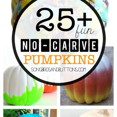 25+ No-Carve Pumpkin Ideas