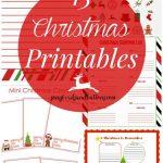 15 Christmas Printables