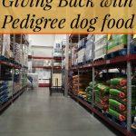 Giving Back with Pedigree dog food