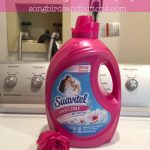 A fabric softener that helps clothes dry faster?!