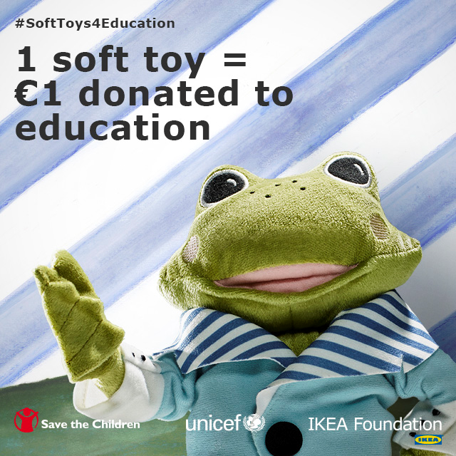 IKEA: Soft Toys for Education