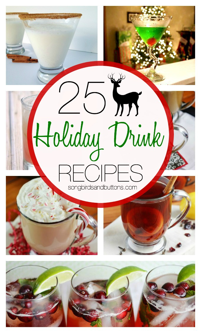 25 Holiday Drink Recipes