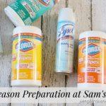 Flu Season Preparation at Sam's Club