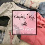 Keeping Cozy with Hanes Fleece