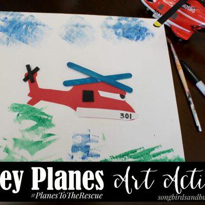 Disney Planes Art Activity