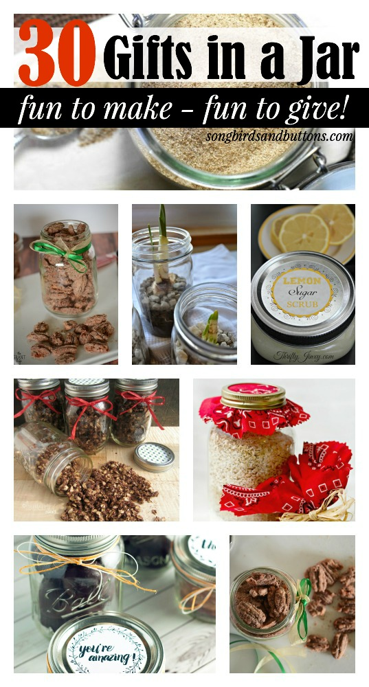 30 Holiday Gifts in a Jar