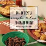 Football Brownies and snacks, oh my!