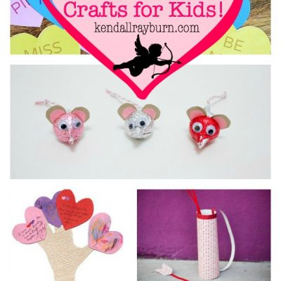 25+ Valentine's Day Crafts for Kids!