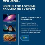 4K Ultra HD at Best Buy
