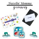 Travelin' with kiddos + Giveaway